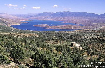 Bin-el-Ouidane Dam and Lake