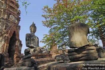 Wat Mahatat of Ayutthaya
