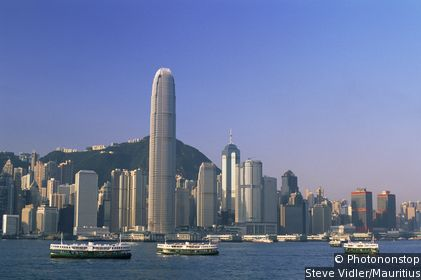 Hong Kong's Central district