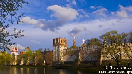 Novodevichy Monastery Walls and Towers