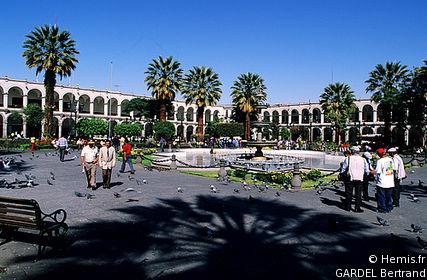 Plaza de Armas of Arequipa