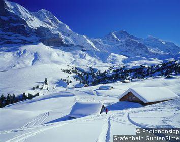 Möchsjochhütte Walking Trail