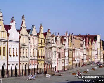 Zachariáš Square of Hradec