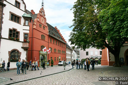 Freiburg Town Hall square