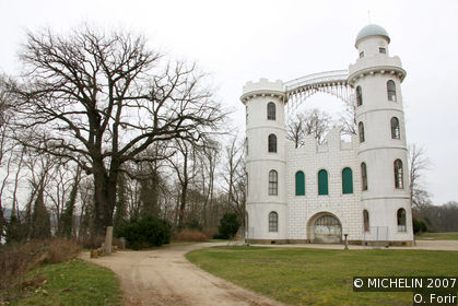 Castle on Peacock Island