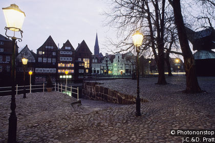 Old Port district of Lüneburg