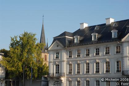 Ludwigsplatz und Ludwigskirche