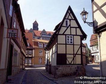 Old Streets of Quedlinburg