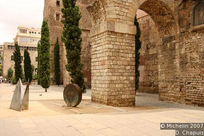 Roman and Visigoth town