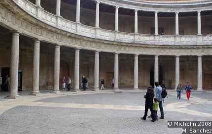 Charles V's palace
