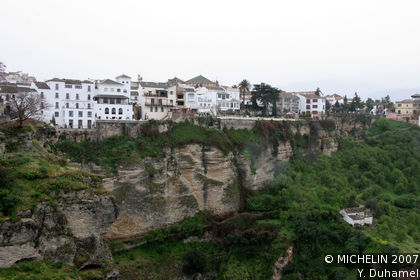 The old town of Ronda