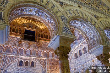 Alcázar : palatial buildings