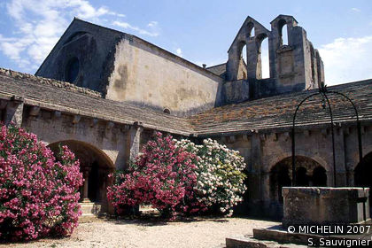 Montmajour abbey
