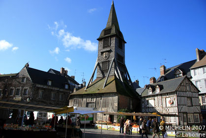 Ste-Catherine's Church Tower