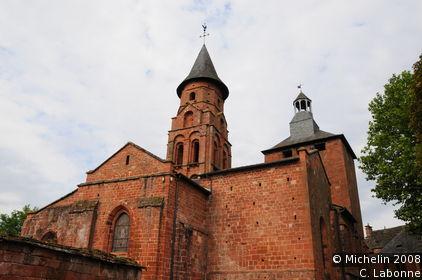 Church of St-Pierre of Collonges-la-Rouge
