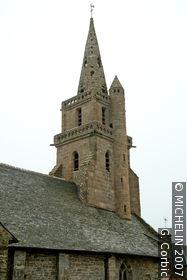 Brélévenez church