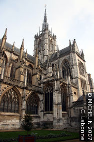 Cathedral of N.-D.- of Evreux