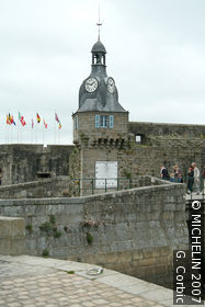 Walled town