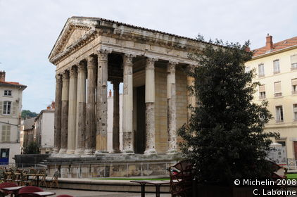 Temple of Auguste and Livie