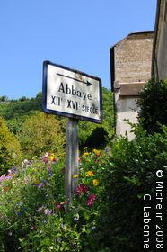 Baume-les-Messieurs Abbey
