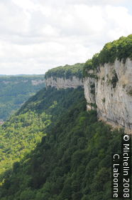 Belvedere of the Baume Rocks