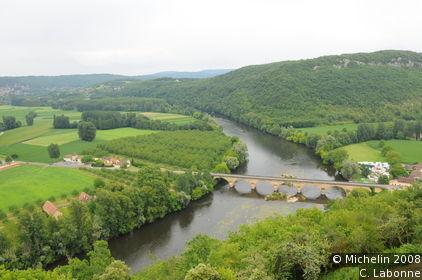 Dordogne Valley in the southern Périgord Noir