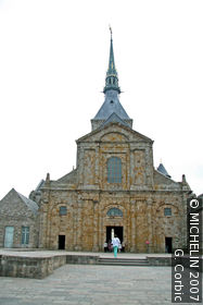 Church of Mont-St-Michel