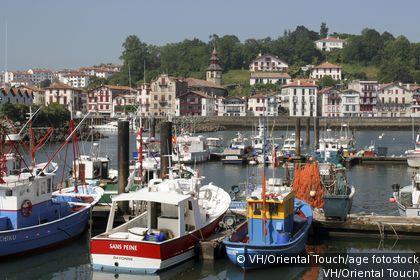 St-Jean-de-Luz Harbor