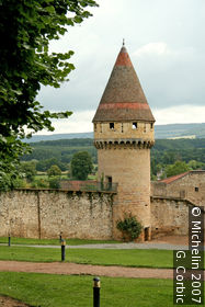 Fabry Tower and Round Tower