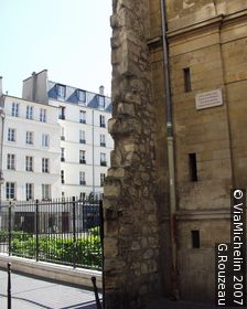 Philippe-Auguste's wall