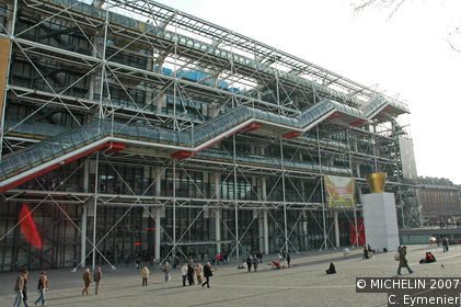mus 233 e national d moderne centre pompidou le guide vert michelin