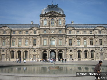 Louvre courtyard (Cour Carrée)