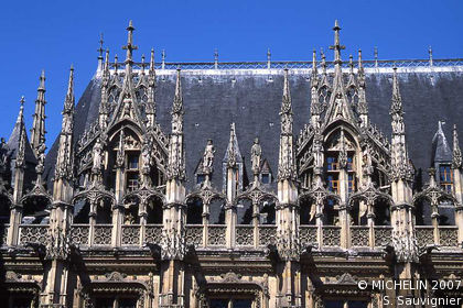 Parliament of Normandy - Rouen Courthouse