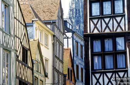 Casco antiguo de Rouen