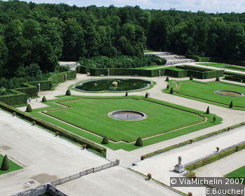 Gardens of the Château of Vaux-le-Vicomte