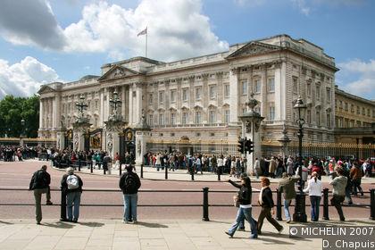 buckingham palace karte: