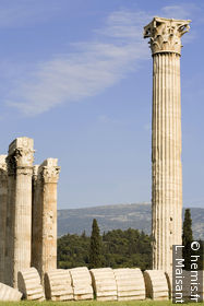 Temple to Olympian Zeus
