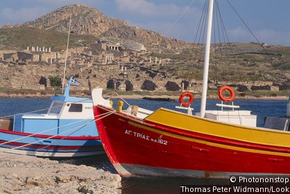 Isle of Dílos: Mount Kynthos