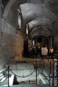 Basement of Diocletian's palace