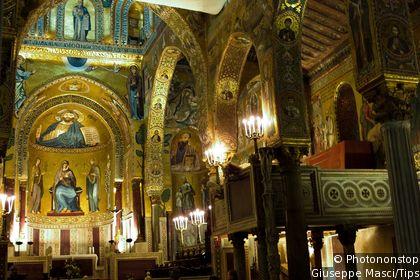 Parlermo Cappella Palatina