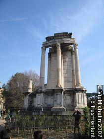 Temple and Atrium of the Vestals