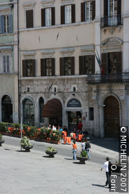 Piazza 4 Novembre (Square of the 4th of November)