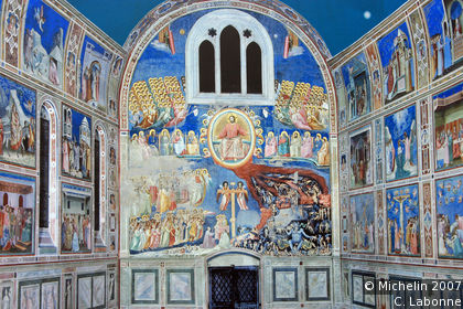 Scrovegni Chapel: frescoes by Giotto