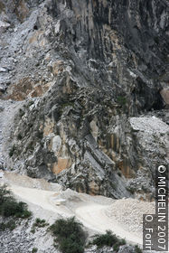 Marble quarries of Fantiscritti