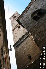 Upper town of Bergamo