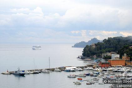 Coastal road (from Santa Margherita Ligure to Portofino)