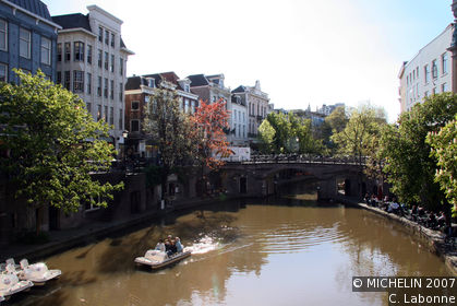 Oudegracht (old canal)