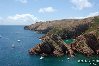 A walk on the island of Berlenga