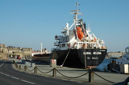 Le port de commerce de Saint-Malo
