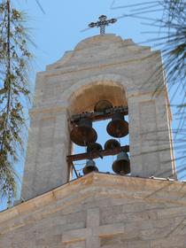 le clocher de l'église St Georges